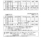 球友会9月5日・6日の予定